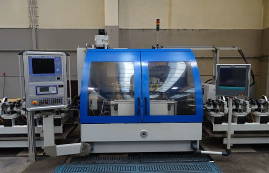 NAGEL VarioFin SCD-AS Superfinishing Maschine