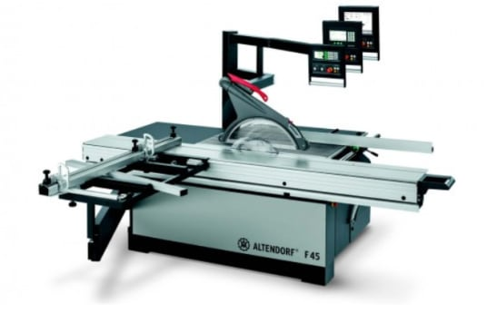 ALTENDORF F 45 ProDrive Sliding Table Saw Equipment package productivity