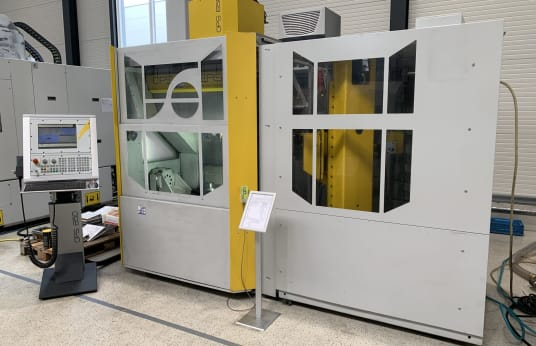 OPS-INGERSOLL OPS 650 + IMC5 5-Axis grafit machining centre