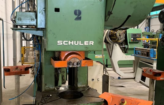 Výstredníkový lis SCHULER PDR 80/280