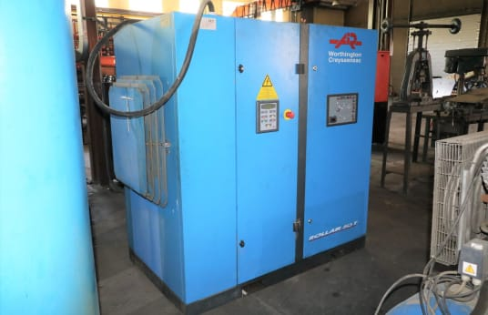 AIR WORTHINGTON CREYSSENSAC RLR 50AXT6 Screw Compressor