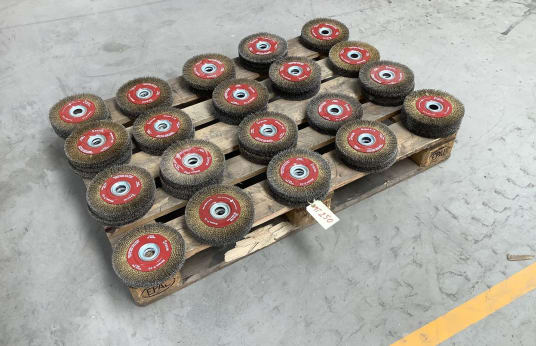 FECIN BLOQUE F 15 Lot of Wire Wheel Brushes