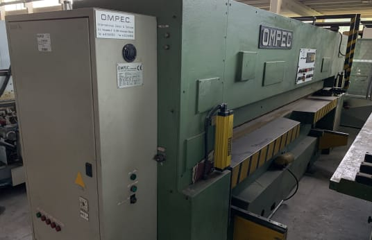 OMPEC TRO/2L Double Veneer Cutting Machine