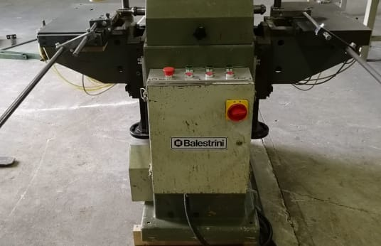 BALESTRINI 2CAP Mortising Machine