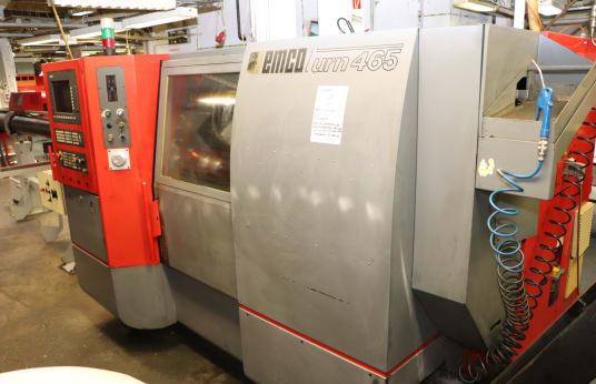 EMCO TURN 465 CNC sliding headstock automatic lathe