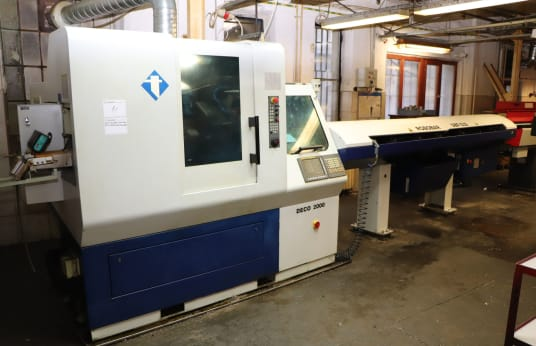 TORNOS DECO 20 S CNC sliding headstock automatic lathe