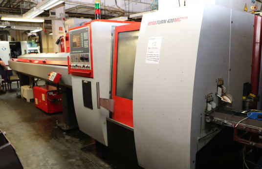 EMCO TURN 420 MC PLUS CNC sliding headstock automatic lathe