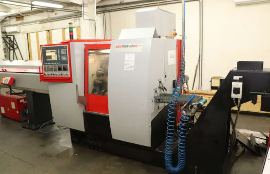 EMCO TURN 420 MC PLUS CNC sliding headstock automatic lathe