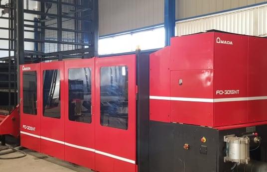 AMADA FO-3015 NT 4 KW Laserschneidanlage