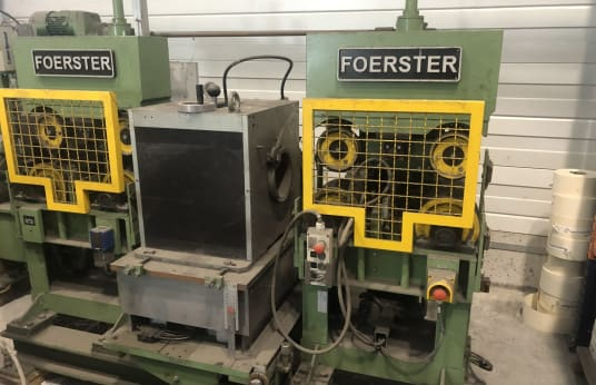 FÖRSTER DEFECTOMAT DS Testing line for the non-destructive eddy current testing of metallic long products