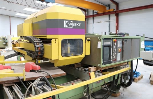 WEEKE BP15 WOPTIMAT Machining Centre for Drilling and Milling