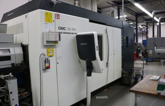 GILDEMEISTER GMC 35 ISM CNC Multi Spindle Automatic Lathe