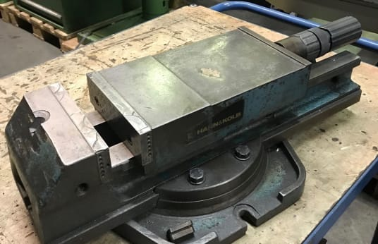 HAHN+KOLB Maschinenschraubstock Hydraulisch