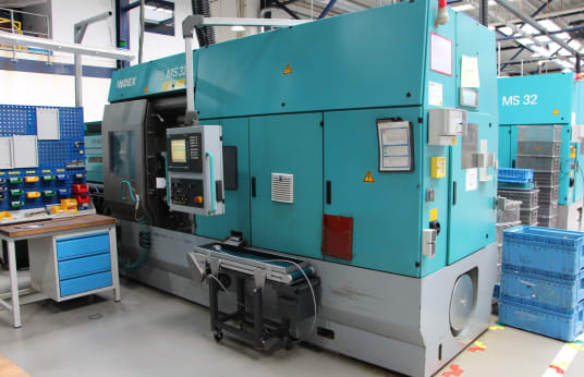 INDEX MS 32 G CNC Multi-Spindle Automatic Lathe