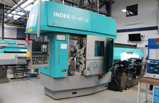 INDEX MS 22 C CNC Multi-Spindle Automatic Lathe