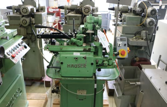 HAUSER 212 Drilling and Grinding Machine