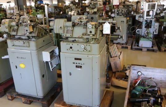 WAHLI W-96 Abwälz-Fräsmaschine