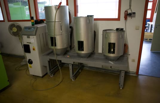 PIOVAN Dry Air Dryer with Molecular Sieve Towers