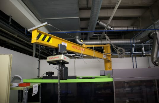 KONE CRANES PS7,5-3,5 Column Mounted Slewing Crane