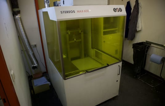 EOS STEREOS MAX 600 Stereolithography Machine