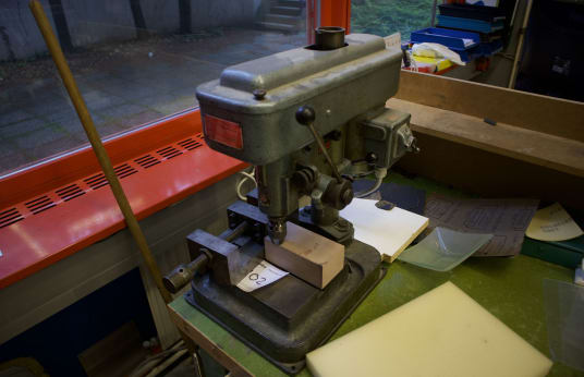 JPIA B 64 TD Tischbohrmaschine