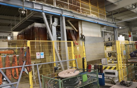 FRIMO DAIMLER C117 FAT/FOT Pressing/forming line for composite parts