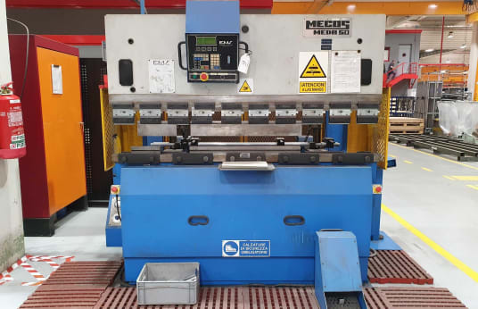 Преса за огъване MECOS MEDA 50/200 Hydraulic