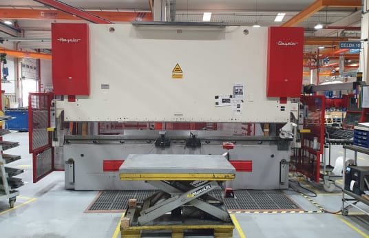 BEYELER PR 8 2500 KN x 4100 MM Hydraulic CNC Upogibna stiskalnica