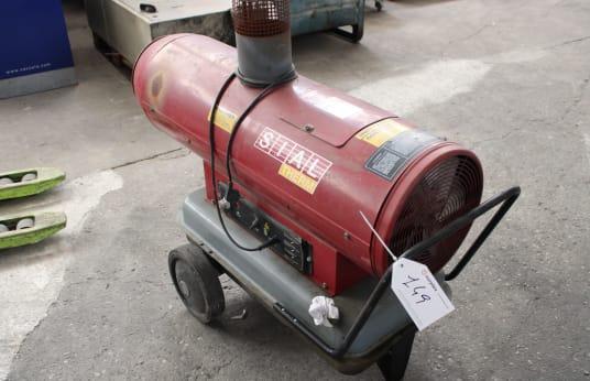SIAL MIRAGE 35 Diesel-Heißluft-Generator