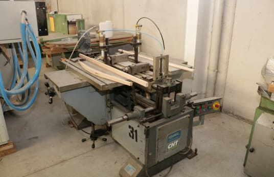 COMEC MO6+AGG Horizontal mortising machine