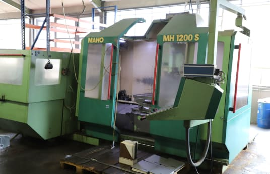 MAHO MH 1200 S CNC Machining Centre