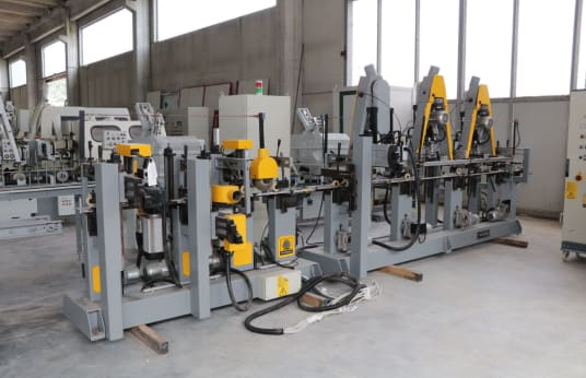 TECNOLEGNO LP/3 PVC Profile Sanding Machine