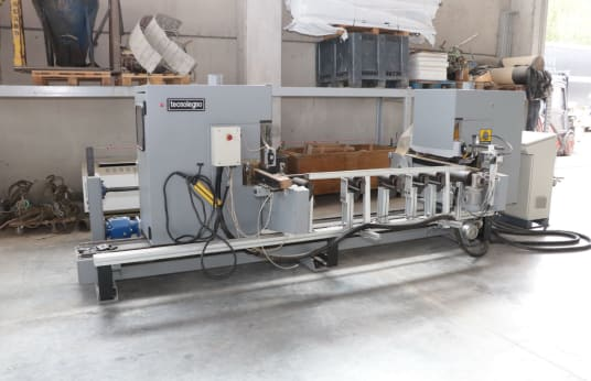 TECNOLEGNO TG 120/2 End-cutting Machine
