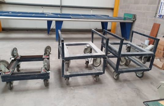 BESPOKE Mobile Stock Trollies