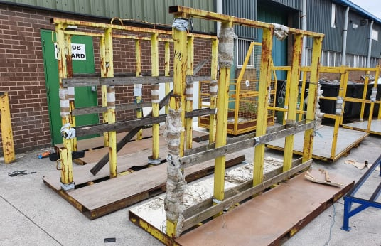 BESPOKE Steel Stock Racks