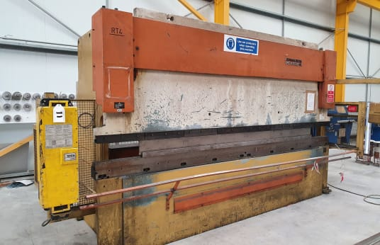 Plegadora hidráulica CNC EDWARDS-PEARSON RT4 125x4100