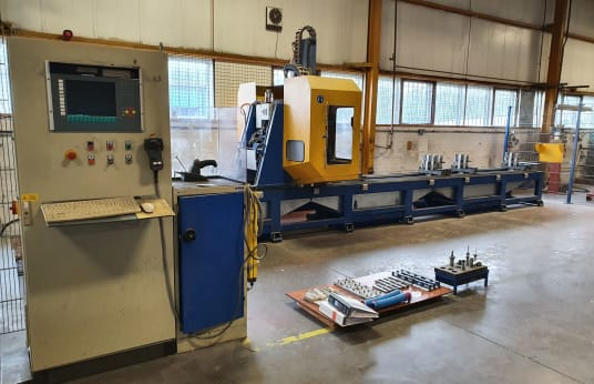 SCHÜCO PBX AL7200 CNC Aluminium & Steel Machining Centre