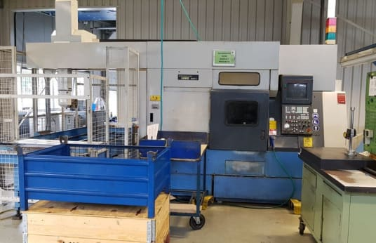 MAZAK Super Quick Turn 18 MS + GL 100 CNC Turning Center with gantry loader