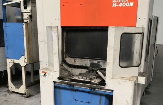 MAZAK H400n Horizontal Machining Center