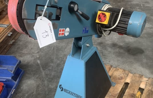 SCANTOOL 50 Belt grinder