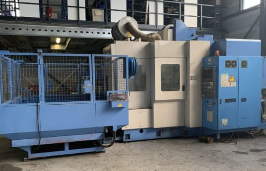 MAZAK AJV 32/605 2PC Vertical Machining Centre (Gantry Type) with Pallet Charger