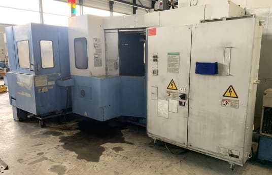 MAZAK FH 580/40 6PC Horiozontal Machining Center with pallet station