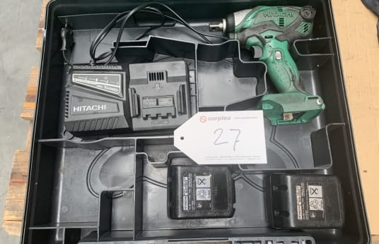 HITACHI WR 14 DSDL Cordless impact Wrench