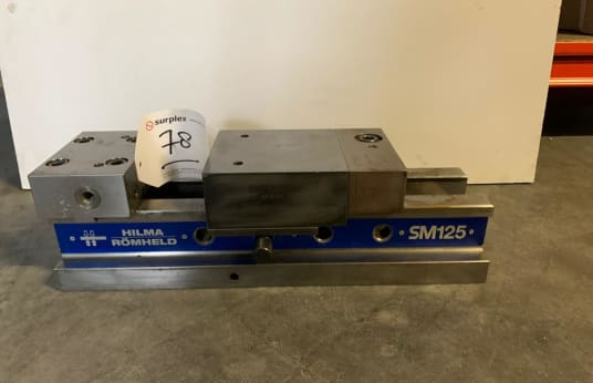 HILMA SM 125 Machine vice