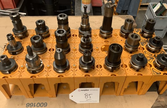 MAS BT 40 Lot of Tool Holders