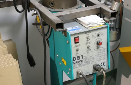 MERKLE D 51/70 Welding Rotary Table