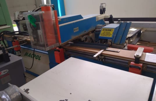 MACPOL SPEEDY 2 FAB CNC-Bearbeitungszentrum