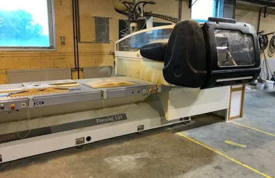 SCM RECORD 121 CNC-Oberfräse mit NESTING-Tisch