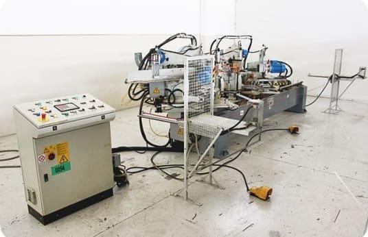 ESSEPIGI RAPID 3000 Double Cut-off Machine