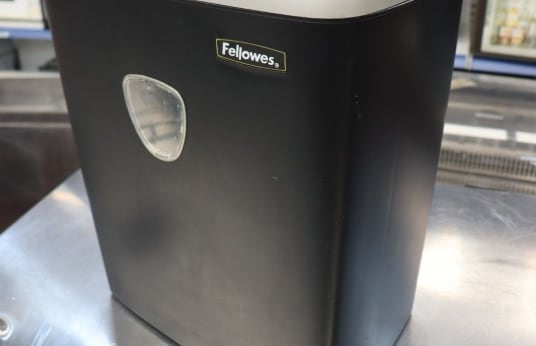FELLOWES PS-60 Lot of 2 Paper Crushers